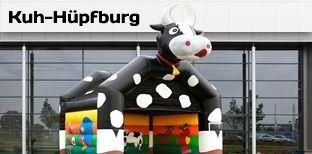 Hüpfburg mieten & vermieten - Hüpfburg- Kuh - Kuhhüpfburg in Bramsche