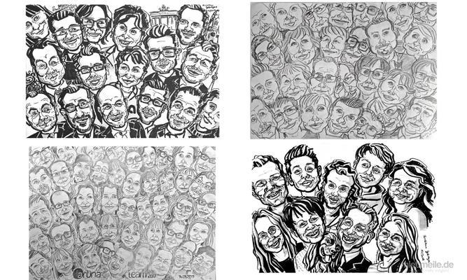 Schnellzeichner mieten & vermieten - Schnellzeichnen Porträt Karikaturen in Berlin