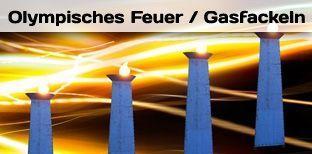 Fackeln & Feuereffekte mieten & vermieten - Gasfackeln - Olympisches Feuer - Fackeln in Bramsche