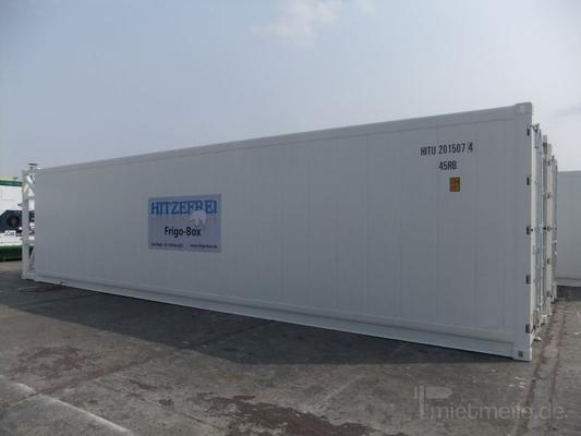 Material- & Lagercontainer mieten & vermieten - 40' Kühlcontainer in Düsseldorf