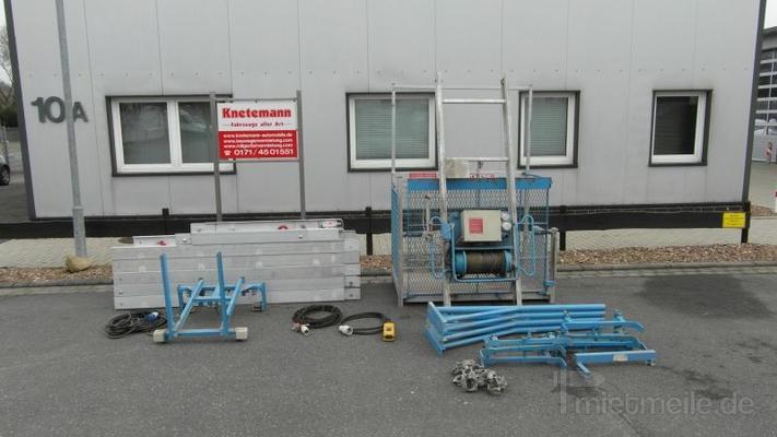 Aufzüge mieten & vermieten - BAUAUFZUG TOPLIFT + ROLLGERÜSTE ZU VERMIETEN in Ganderkesee
