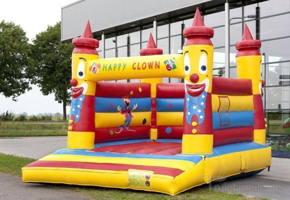 "Hüpfburg mieten & vermieten - Hüpfburg ""Happy Clown"" mieten in München"