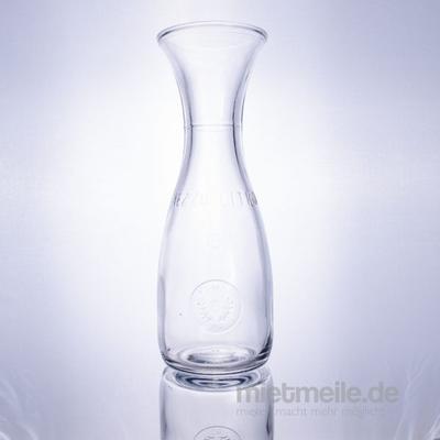 Gläserverleih mieten & vermieten - Karaffe 1,0l in Rosenheim