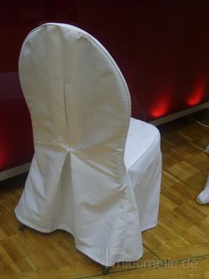 Stühle mieten & vermieten - Polsterstuhl Dunkelblau mit Husse in Rosenheim