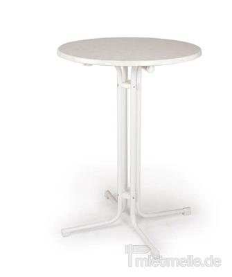 Tische mieten & vermieten - Stehtisch 70cm Kunststoff in Rosenheim