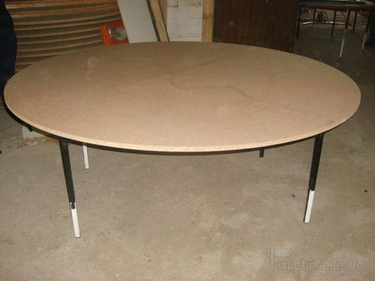 Tische mieten & vermieten - Tisch rund 160cm  in Rosenheim
