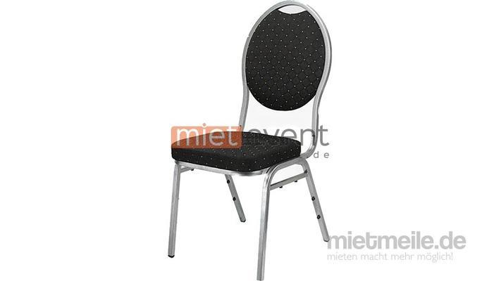 Stühle mieten & vermieten - Bankettstuhl mit Polster  in München