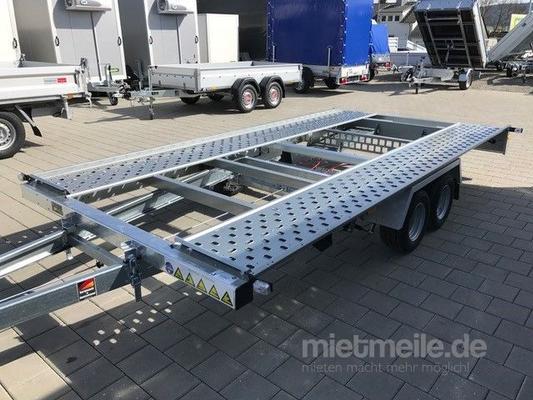 Autoanhänger mieten & vermieten - Autotransporter 2700 kg absenkbar in Trossingen