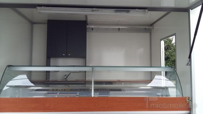 Verkaufsanhänger mieten & vermieten - Verkaufsanhänger mit Kühltheke in Grevenbroich