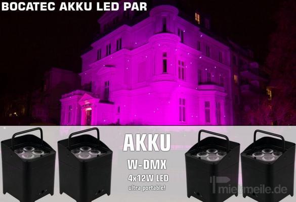 Lichttechnik mieten & vermieten - Bocatec Akku LED Spot mieten in Buchholz in der Nordheide