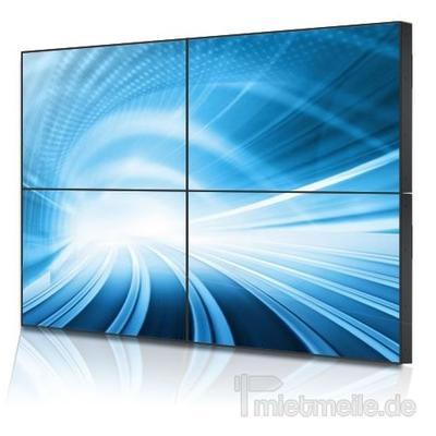 """LCD Monitore mieten & vermieten - Samsung 46"""" steglos Display-Wall 2x2 Videowall in Berg bei Neumarkt in der Oberpfalz"""