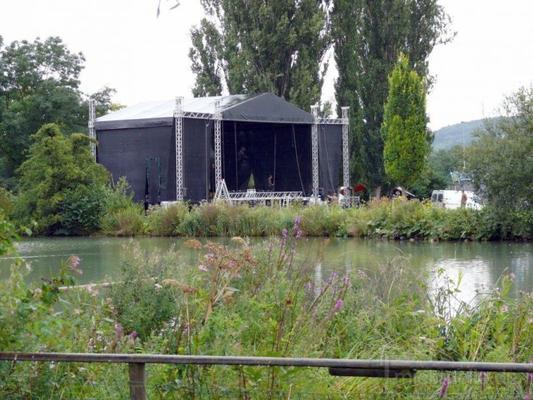 Bühne mieten & vermieten - Bühne 12x10 m - Prolyte MPT-Ground Support in Teutschenthal