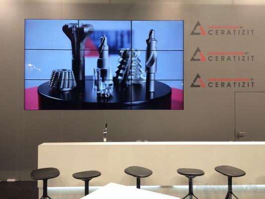 """LCD Monitore mieten & vermieten - 2x2 oder 3x3 Splitwand mieten - für 46"""" oder 55"""" in Dresden"""