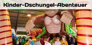 Hüpfburg mieten & vermieten - 260 qm Kinder Dschungel Abenteuer in Bramsche