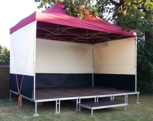 Bühne mieten & vermieten - Event-Bühnendach 6x4m in Kaltenkirchen
