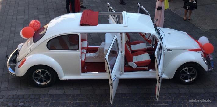 Hochzeitsauto mieten & vermieten - Einzigartiger VW Käfer Limousine 1967 in Gangelt