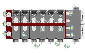 Toilettenwagen mieten & vermieten - Vip Toilettenwagen XL | 6 Toiletten | 4 Urinale in Bramsche