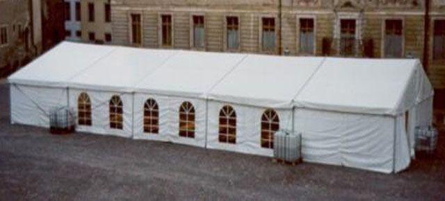 Festzelt mieten & vermieten - Festzelt 10 x 25 m in Reinstädt