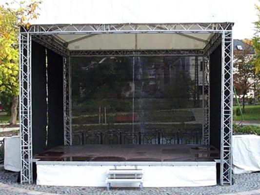 Bühne mieten & vermieten - Podestverkleidung in Reinstädt