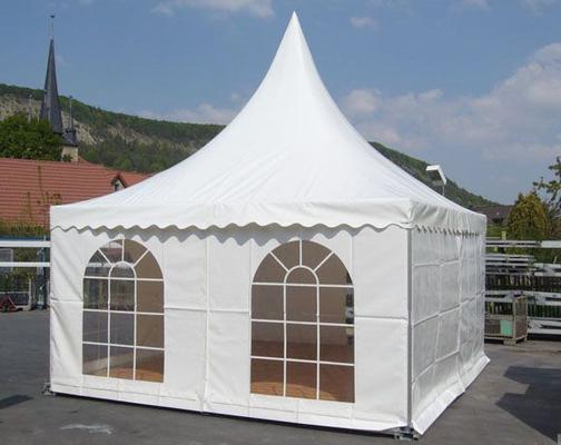 Partyzelte mieten & vermieten - Pagode - 5 x 5 m Partyzelt ohne Boden in Reinstädt