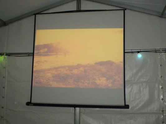 Leinwand mieten & vermieten - Leinwandgestell 2,80 x 2,10 m in Reinstädt