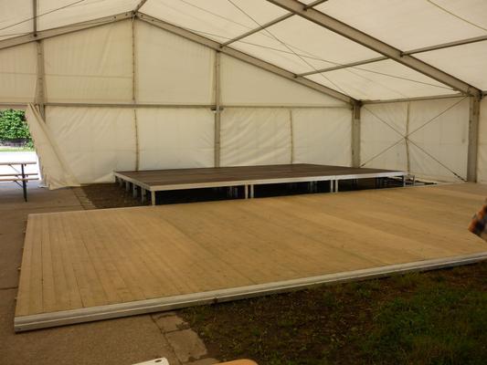 Tanzboden mieten & vermieten - Holzboden/ Tanzfläche - bis 75m² als 3,0m Raster in Reinstädt
