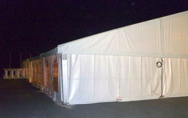 Festzelt mieten & vermieten - Festzelt 20 x 20 m in Reinstädt