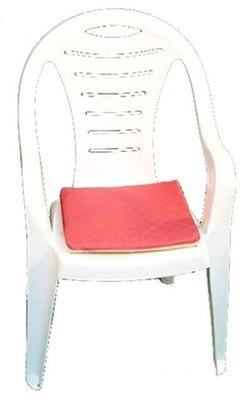 Stuhlhussen mieten & vermieten - Sitzauflage - rot / beige in Reinstädt