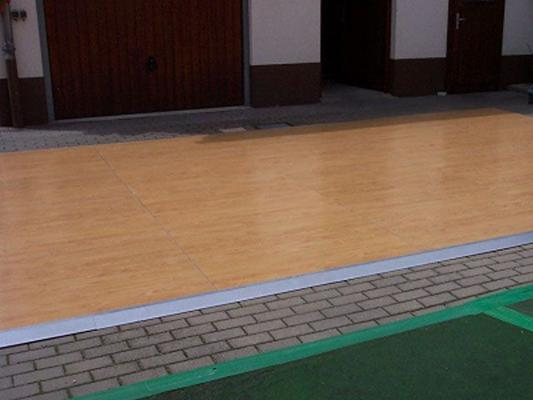 Tanzboden mieten & vermieten - Tanzfläche/Tanzboden/Boden aus Parkett, hochwertig in Reinstädt