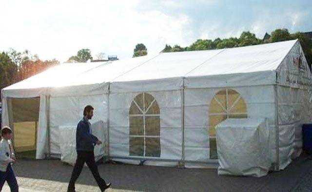 Partyzelte mieten & vermieten - Partyzelt 8 x 12 m in Reinstädt