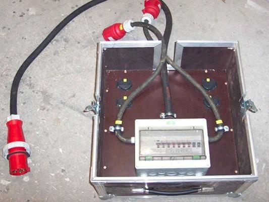 Stromgenerator mieten & vermieten - Baustromverteiler - Unterverteiler 63A in Reinstädt