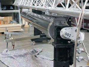Leinwand mieten & vermieten - TUBE Motorleinwandsystem in Hünxe