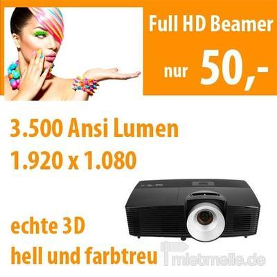 Beamer mieten & vermieten - Full HD Beamer 3.500 ANSI Lumen in Dresden