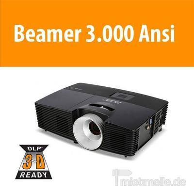 Beamer mieten & vermieten - Beamer 3.000 Ansi inkl. Leinwand in Dresden