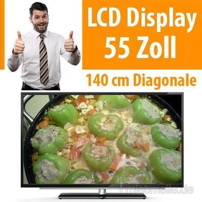 "LCD Monitore mieten & vermieten - 55"" LCD Display Fernseher TV in Dresden"