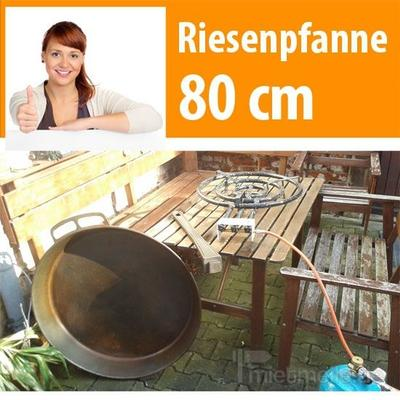 Koch- & Backgeräte mieten & vermieten - Paella Riesenpfanne 80 cm ! inklusive ! 24 KW Brenner in Dresden
