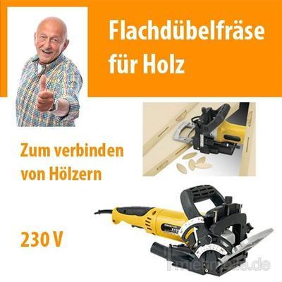 Werkzeuge & Geräte mieten & vermieten - Flachdübelfräse Nutfräse Schlitzfräse Fräse in Dresden