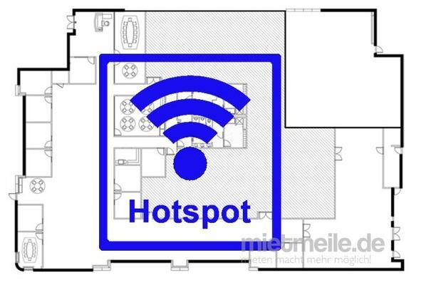 Netzwerk & Router mieten & vermieten - Internet WiFi Hotspot 50 Personen LTE Funk WLAN Vodafone - z.B. für Messe Aussteller und Pressebüro in Berlin