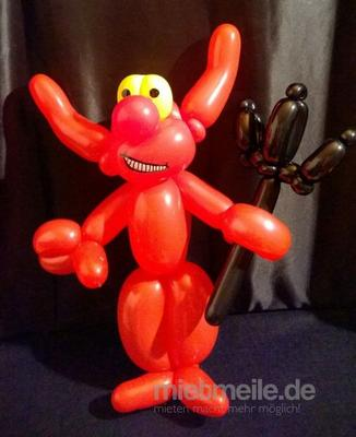 Ballonkünstler mieten & vermieten - Ballonkünstler, Ballonmodellage, Luftballons, Ballontiere, Modellierballons, Ballonclown in Münchberg