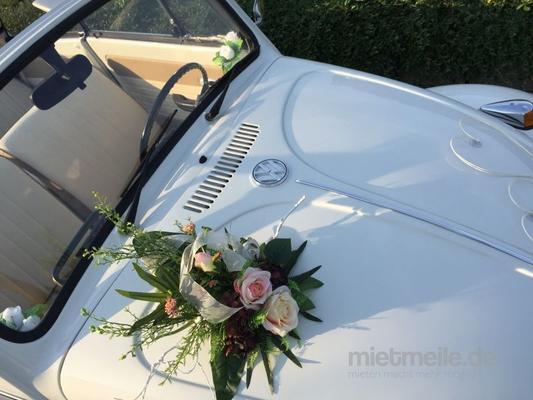 Oldtimer mieten & vermieten - Oldtimer Käfer Cabrio inkl. Chauffeur, Hochzeit in Bad Oeynhausen