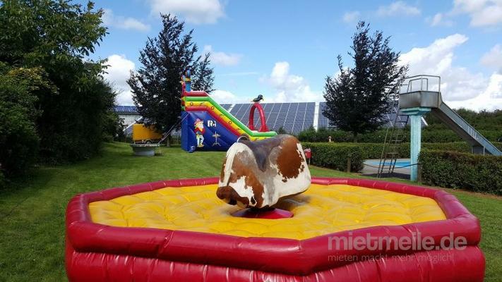 Bullriding mieten & vermieten - Bullriding Rodeo Anlage Bullen reiten  in Großharrie