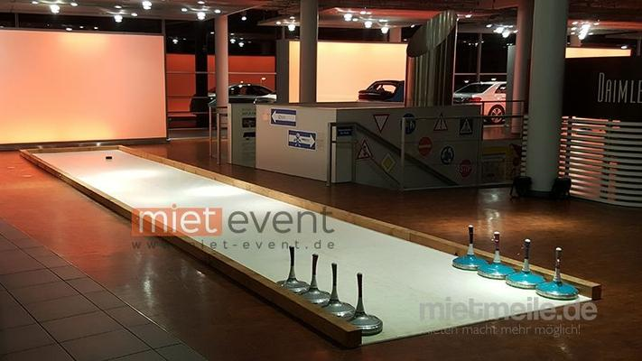 Curlingbahn mieten & vermieten - Eisstockbahn / Fun Curling mieten Bayern in München