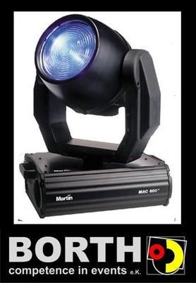 Lichttechnik mieten & vermieten - Martin Mac 600 in Ratingen