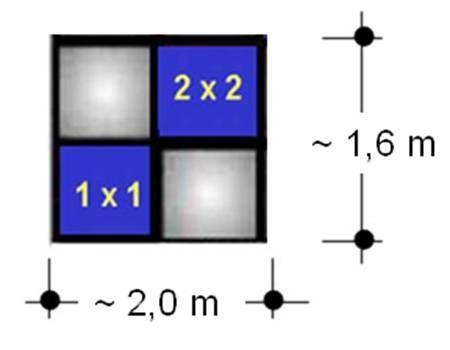 Plasmadisplays mieten & vermieten - Barco Monitor SCM 2850 2 x 2 in Ratingen