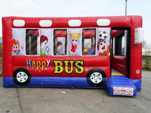 Hüpfburg mieten & vermieten - Hüpfburg Happy Bus in Ratingen