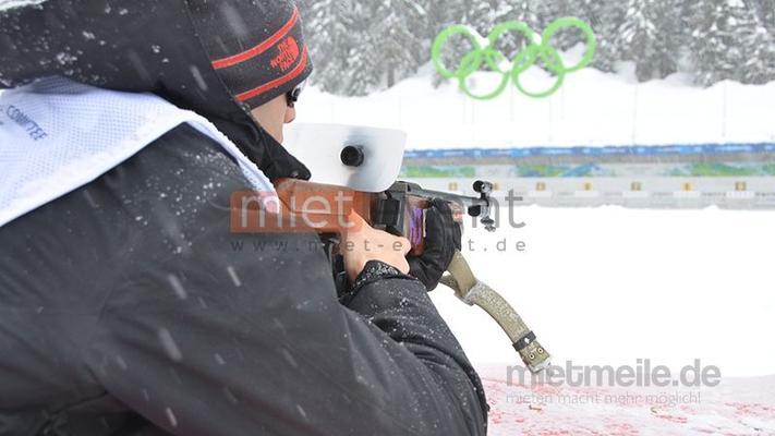 Biathlon mieten & vermieten - Laser Biathlon Simulator mieten  in München