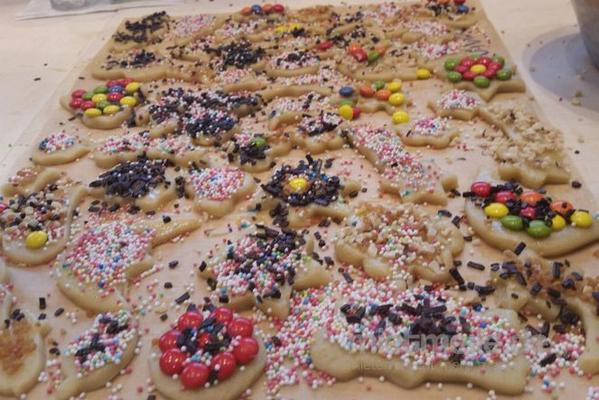 Weihnachtsmann mieten & vermieten - Kinderweihnachtsbäckerei in Bramsche