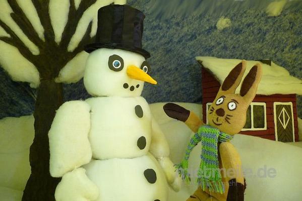 Weihnachtsmann mieten & vermieten - Puppenspiel - Der Schneemann und der Hase in Bramsche