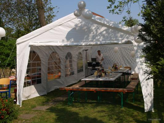 Partyzelte mieten & vermieten - Partyzelt 5x10m in Wedel