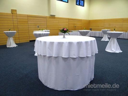 Tische mieten & vermieten - Banketttisch, Kongresstisch, Besprechungstisch, Bufetttisch in Berlin